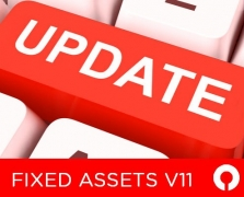 Fixed Asset management software V11 update