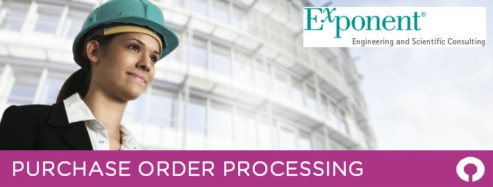 Exponent Purchase Order Processing case study