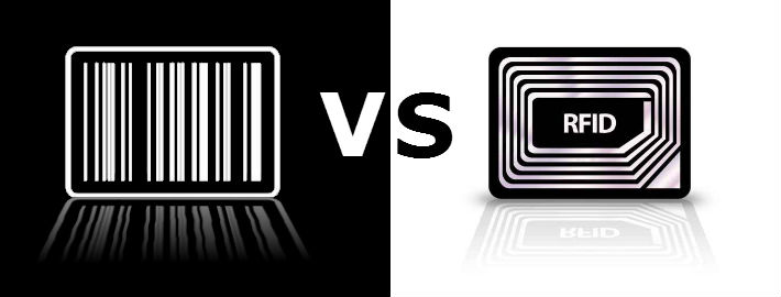 Barcodes vs RFID in asset tracking