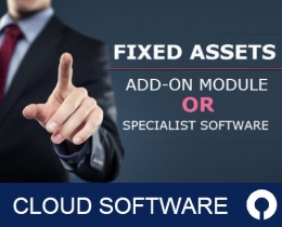 Fixed Assets Add-on module or specialist software