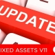 Fixed Asset management software V11 update