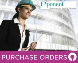 Exponent Purchase Order Processing Software case study