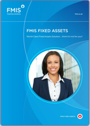 FMIS Fixed Assets Brochure cover