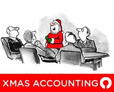 If Santa were an accountant